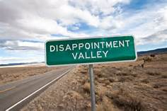 dissappointment valley