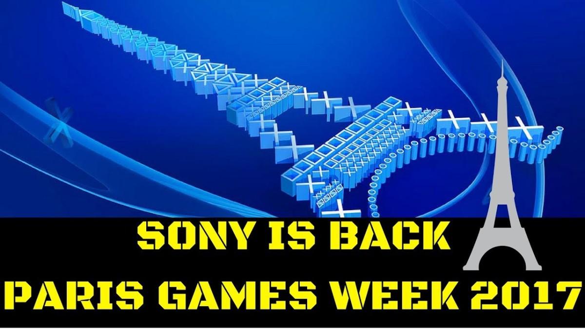 Sony Paris Games Week2017!