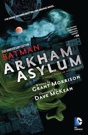 arkham asylum book