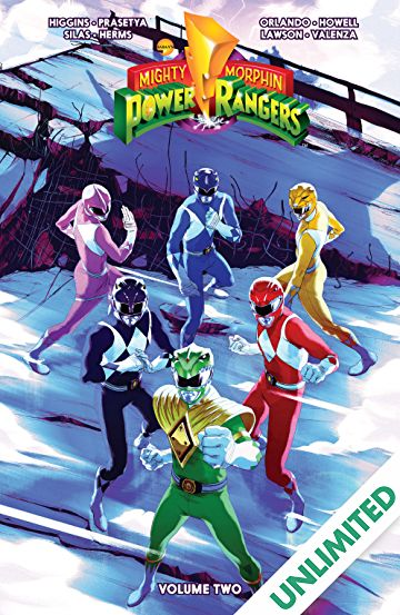 power rangers vol 2