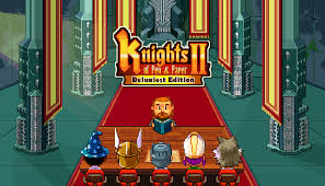 Knights of Pen and Paper 2 Deluxe Edition (PS4)