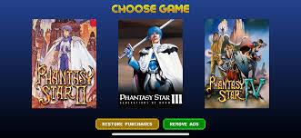 Sega Forever Phantasy Star4
