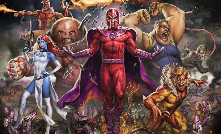 magneto and the brotherhood of mutants