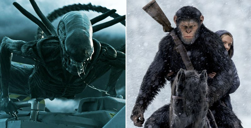 Disney Promises Alien and Planet of the Apes Not Finished.