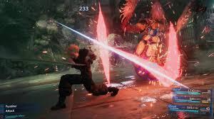 Multiple Combat Modes in Final Fantasy 7Remake