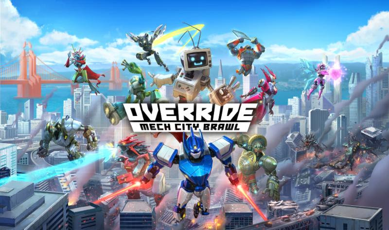 Override: Mech City Brawl, Now on Nintendo Switch