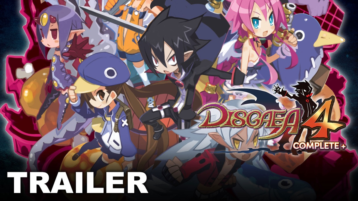Disgaea 4 Complete+ Out Now