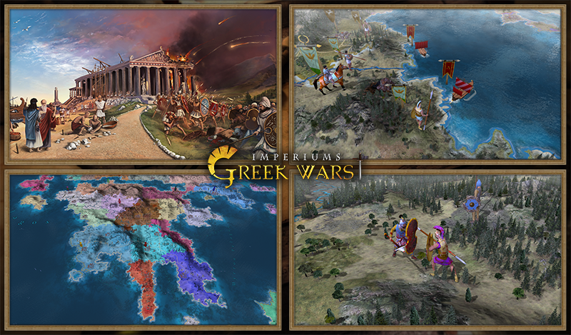 Greek Wars Imperiums Announcement