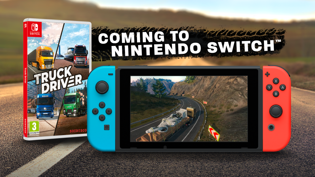 Truck Driver Coming To Nintendo Switch