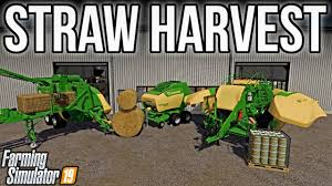 Farming Simulator 19 Straw Harvest Add-On Out Now (PS4, Xbox, andPC)