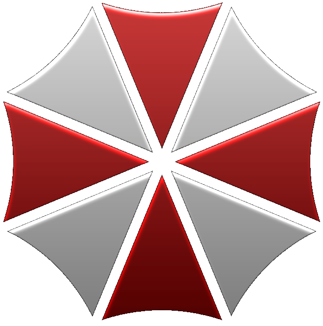 re umbrella logo