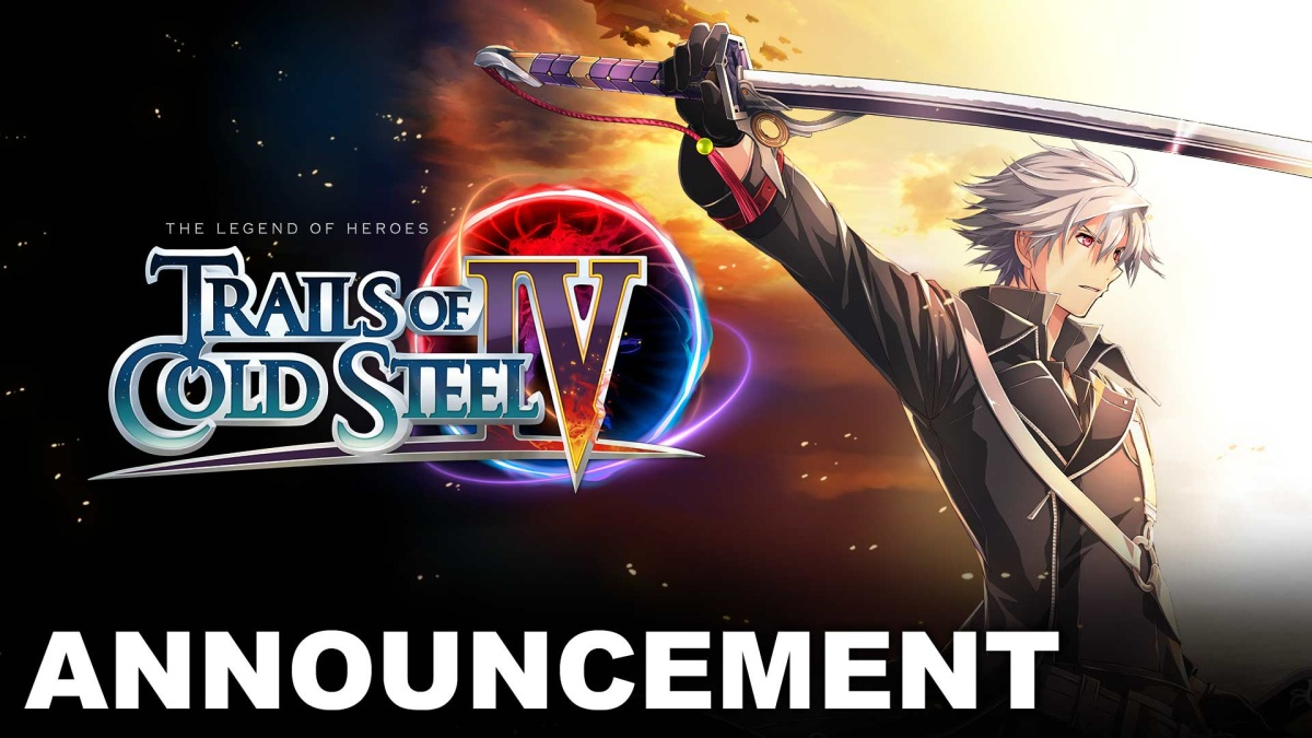 Trails of Cold Steel IVAnnounced