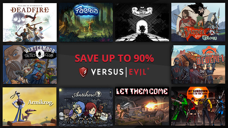 Versus Evil SteamSale