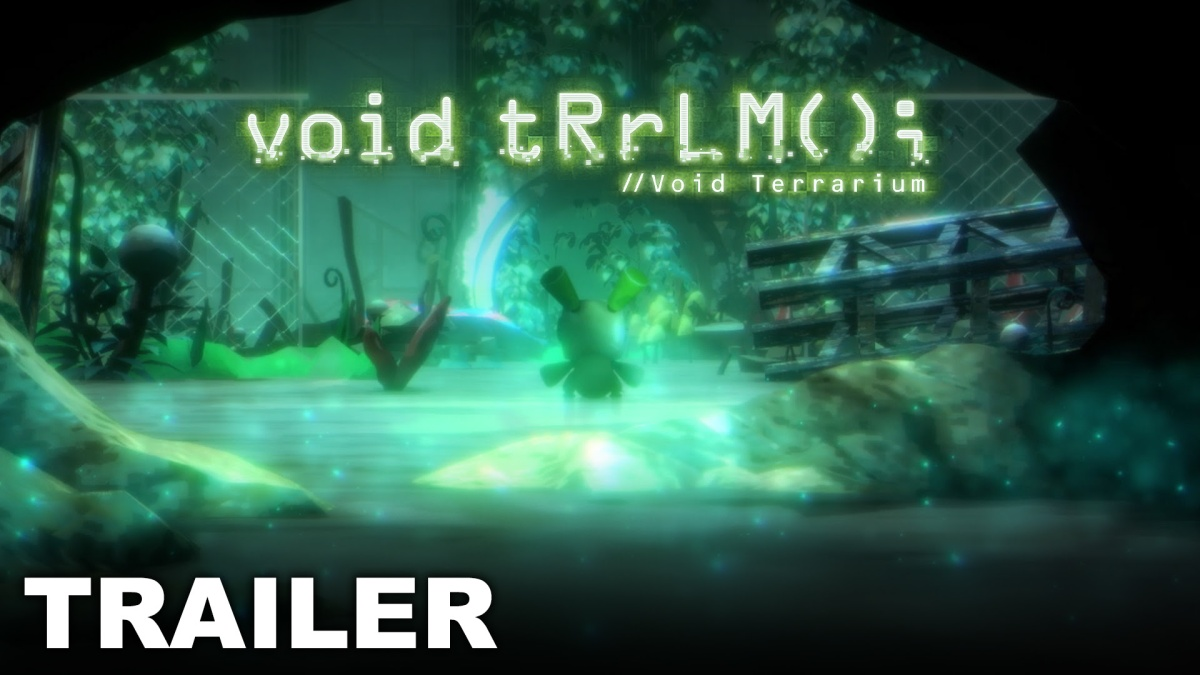 New gameplay trailer for void tRrLM(); //Void Terrarium