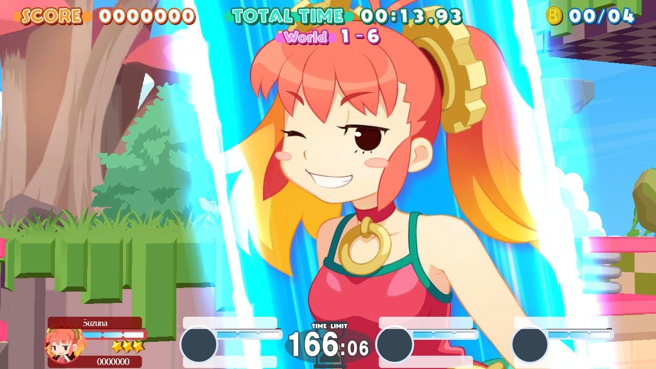 Suzuna Special Attack_Umihara Kawase BaZooKa