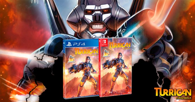 Turrican Flashback Release Date January 29th